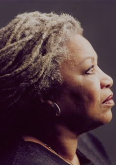 """""""The Time I Refused to Run"""" by Toni Morrison for Oprah Magazine. The Nobel Prize–winning author of """"Home"""" (now in paperback) looks back on the time she faced down her greatest fear. Click the pic for a look at the power of courage. Dreads, Fierce, Toni Morrison, Curly, Portraits, Face Light, We Are The World, Ageless Beauty, Going Gray"""