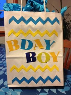 Personalized Birthday Gift bags by MerciBeaucoupGifts on Etsy, $3.00