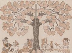 Family tree, the designer Carlègle