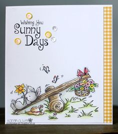 Happy Sunday :-) Today we have some lovely flowery inspiration for you;     Bunny Blooms Simply Print by Gaynor      Mouse and Bumblebee Sim...