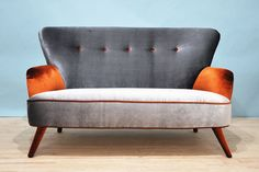 Velvet Sofa by namedesignstudio