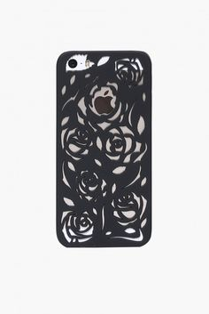 Rose Garden iPhone 5 Case in Black | Necessary Clothing