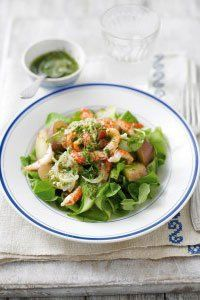 <center>Toss together this fresh crayfish salad for lunch or dinner – it's a 10 minute wonder!
