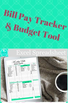 Gone are the days of bill pay and budgeting by hand! This printable bill pay and finances planner will change the way you handle your family budget!  #ad