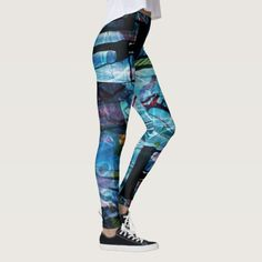 Shop In The Darkness of the Ocean I Call Thee Leggings created by SxismaShop.