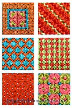Patterns for sewing plastic canvas by addie