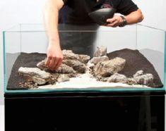 A thoroughly modern aquascape - Practical Fishkeeping Corner Aquarium, Aquarium Rocks, Home Aquarium, Nature Aquarium, Aquarium Design, Planted Aquarium, Aquarium Fish, Freshwater Aquarium, Cool Fish Tank Decorations
