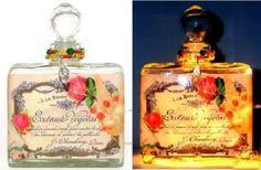 #10 Chic Roses Perfume Bottle Nightlight ( Night Light )