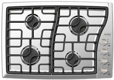"Verona VECTGMS304SS 30"" Gas Sealed Burner Style Cooktop Stainless Steel"
