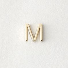 Maya Brenner DESIGNS mini letter stud earring - m Michelle Rodriguez, Ravenclaw, Letter Earrings, Stud Earrings, Gwendolyn Christie, Mathilda Lando, Jordy Baan, Maia Roberts, Melinda May