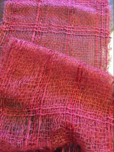 Projects From Simply Stunning Scarves Weaving Designs, Weaving Projects, Weaving Patterns, Loom Weaving, Hand Weaving, Weave Styles, Woven Scarves, Textiles, Tapestry Design