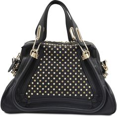 Protect your leather investment with WhooHoo-Clean Leather Care, available on http://www.amazon.com/Leather-Conditioner-Investment-Furniture-Leather/dp/B00EECWG7A. Chloé Paraty Studded bag ($2,740) found on Polyvore
