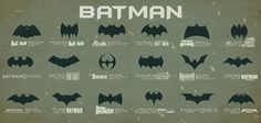 Batman across the years