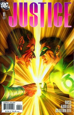 Sinestro vs Green Lantern by Alex Ross