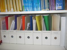 Lots of great ideas for organizing lesson materials and files. In this post I show what bins to use for what lesson materials.