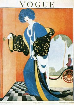 Vogue UK cover --- Late August, 1919