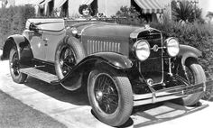 Silent film star Clara Bow in a LaSalle Roadster courtesy of The Henry Ford.