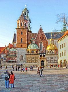 Inside The Wawel, Krakow, Poland.