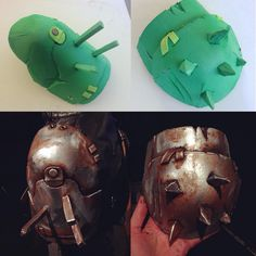 fallout shoulder armour pauldron raider – beautifully done, looks like she pulled them right off the screen! Costume Tutorial, Cosplay Tutorial, Cosplay Diy, Halloween Cosplay, Cosplay Ideas, Cosplay Fallout, Fallout Costume, Larp, Costume Carnaval
