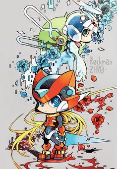 A Memory Engraved Upon a Petal Mega Man, Akira, Game Character, Character Design, Cry Anime, Anime Chibi, K Dash, Toon Squad, Megaman Zero