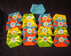 This Listing is for 48pc Dirty Diaper Game, 47regular + 1 Popped diaper As you're guest arrives give them a Diaper to pin as a corsage When you are ready to play games ask your guest to look in their Diaper  the one that has the popped diaper wins the game