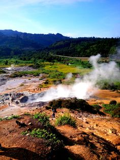 #kawah #sikidang #dieng #indonesia #asia #nature