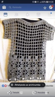 FILET KNITTING If you want more knitting patterns, knitting patterns and beautiful patterns … - Stricken 2020 Crochet Bolero, Cardigan Au Crochet, Pull Crochet, Mode Crochet, Crochet Cardigan, Crochet Lace, Crochet Stitches, Knitting Patterns, Crochet Patterns