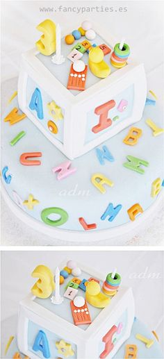1000 ideas about alphabet cake on pinterest cake pans for Abc cake decoration