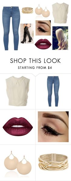 """""""Girls night out"""" by jazztacular on Polyvore featuring Chanel, Dorothy Perkins, Lime Crime, Rosantica, cute and NightOut"""