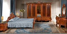 Cleopatra LUX office www. Classic Furniture, Furniture Making, Solid Wood, Cleopatra, Bed, Home Decor, Decoration Home, Stream Bed, Room Decor