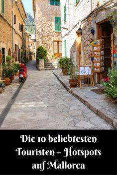 Wer noch nie auf Mallorca war, wird sich wundern, wieviel diese Insel zu bieten hat! Hier findest du die Die 10 beliebtesten Touristen – Hotspots auf #Mallorca!