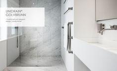 unidrain: Design och funktionalitet i den modern dusch Bathtub, Bathroom, Elegant, Design, Standing Bath, Washroom, Classy, Bathtubs, Bath Tube