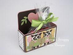 stampin up matchbox with bunny easel | Free Video Tutorials