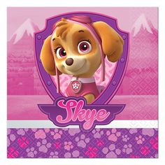 Don't miss out on our Paw Patrol Pink Party Supplies! You can throw her a Paw Patrol Pink party that is out of this world! Birthday Express will provide you with all the materials you need to make it happen. Paw Patrol Party Supplies, Kids Party Supplies, Party Supplies Australia, Paw Patrol Birthday, Beverage Napkins, Party Tableware, Prints, 2 Ply, Party Ideas