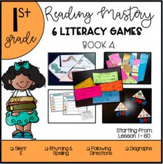 This bundle includes the following centers for Presentation Book A. The focus is around Symbol Identification (sound combinations), Reading Vocabulary, Picture Comprehension and Spelling. This will be a growing bundle!! Will be adding 6 more games for Presentation B and C. This will be a total of 2... Literacy Games, Literacy Centers, Reading Mastery, E Puzzle, Picture Comprehension, Direct Instruction, Reading Games, Teacher Pay Teachers, Spelling