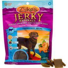 Zuke's Jerky Naturals Grain Free Dog Treats