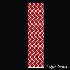 Netting Beaded Peyote Bracelet Cuff Pattern by FUNPATTERNDESIGNS