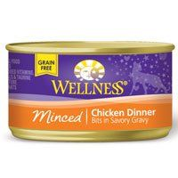 Wellness Canned Cat Food, Minced Chicken Dinner, « Holiday Adds