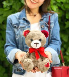 Crochet Animal Patterns, Stuffed Animal Patterns, Crochet Patterns Amigurumi, Baby Knitting Patterns, Amigurumi Doll, Crochet Animals, Crochet Gifts, Crochet Toys, Crochet Baby