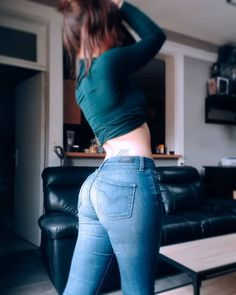 Sweet Jeans, Curvy Outfits, Fashion Outfits, Pinup Photoshoot, Lace Jeans, Curvy Jeans, Tights Outfit, Girls Jeans, Vestidos