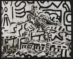 Annie Leibovitz ,Keith Haring, New York, 1986