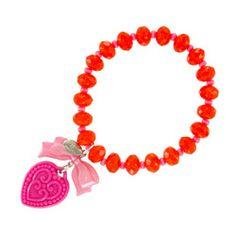 Cool bracelet (except in purple/blue)! On Sale! Tarina Tarantino, Bracelet Making, Bracelet Watch, Handmade Bracelets, Beaded Bracelets, Rings N Things, Thing 1, Macaron, Pink