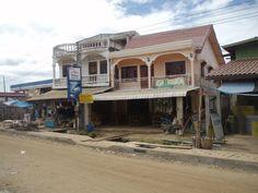 Malina Guesthouse, Ban Nakasong  #SiPhanDon #laos #treasuresoflaos Laos, Phan, Mansions, House Styles, Fancy Houses, Mansion, Manor Houses, Mansion Houses, Villas