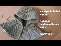 Kapüşondan başlayarak robalı bebek hırkası yapımı, orta kalınlıkta ip … Starting with the hood, the baby cardigan with robe was made, medium thickness rope and skewer were used. The video only covers the production of hood and roba, arm and body … Baby Knitting Patterns, Baby Hats Knitting, Crochet Stitches Patterns, Knitting For Kids, Knitting Designs, Free Knitting, Knitted Hats, Knitting Stitches, Knitted Baby Cardigan