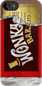 #Chocolate Wonka Bar #iPhone Case  #MobilePhones