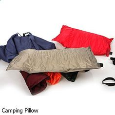 Camping Pillow - amazing variety. Must visit...