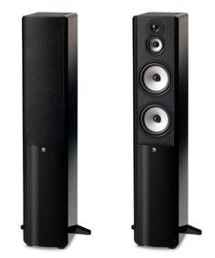 Boston Acoustics A 360 - Altavoces (Speaker set unit, 3-way, Floor, 38 - 25000, Black, Cherry, White)