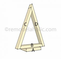 Christmas Decor Triangle Tree labled Best Picture For Diy Wood Ornaments vinyl For Your Taste You ar Wooden Christmas Decorations, Farmhouse Christmas Decor, Wood Ornaments, Rustic Christmas, Simple Christmas, Tree Decorations, Beautiful Christmas, Pallet Christmas, Diy Christmas Tree