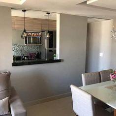 Cheap Diy Home Decor, Kitchen Room Design, Home Decor Kitchen, Open Plan Living, Küchen Design, Furniture Makeover, Bathroom Medicine Cabinet, Kitchen Remodel, House Plans