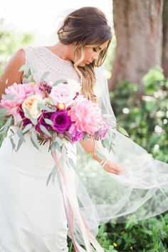 @Ellesonevents | @hunterryanphoto | Boho Beach Wedding Inspiration| Casa Ybel Resort Wedding | Florida Beach Destination Wedding Inspiration | Nicole Miller Beaded Wedding Dress | Hunter Ryan Photo | Elleson Events | Blush and Purple Wedding Flowers | Flowing Silk Ribbon | Island Bride | Beach Bride | Captiva Wedding | Destination Wedding Planning & Design | Coastal Wedding Inspiration